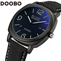 2017 Luxury Brand DOOBO Fashion Watches Men Leather Casual Watch Waterproof Military Relogio Masculino Sport Men's Wristwatch