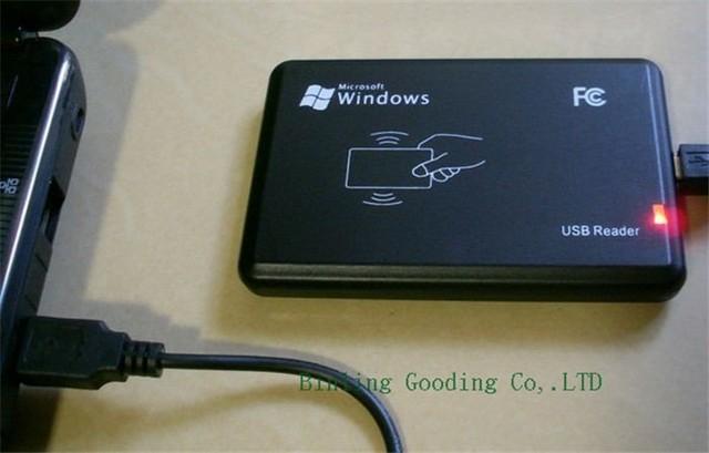 Nova Versão 13.56 MHz Leitor RFID USB Sensor de Proximidade Smart Card Leitor NFC Variedade Formato (sem Condutor) + 2x Amostra Cartão NFC