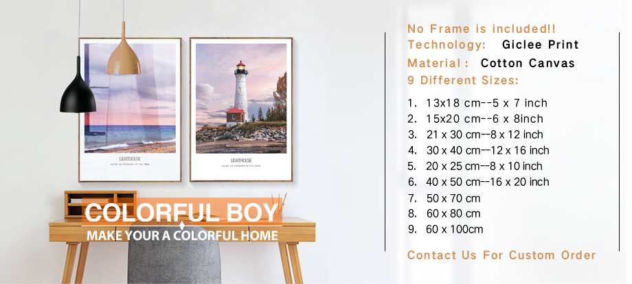 COLORFULBOY Girls Window Feather Wall Art Print Canvas Painting ...