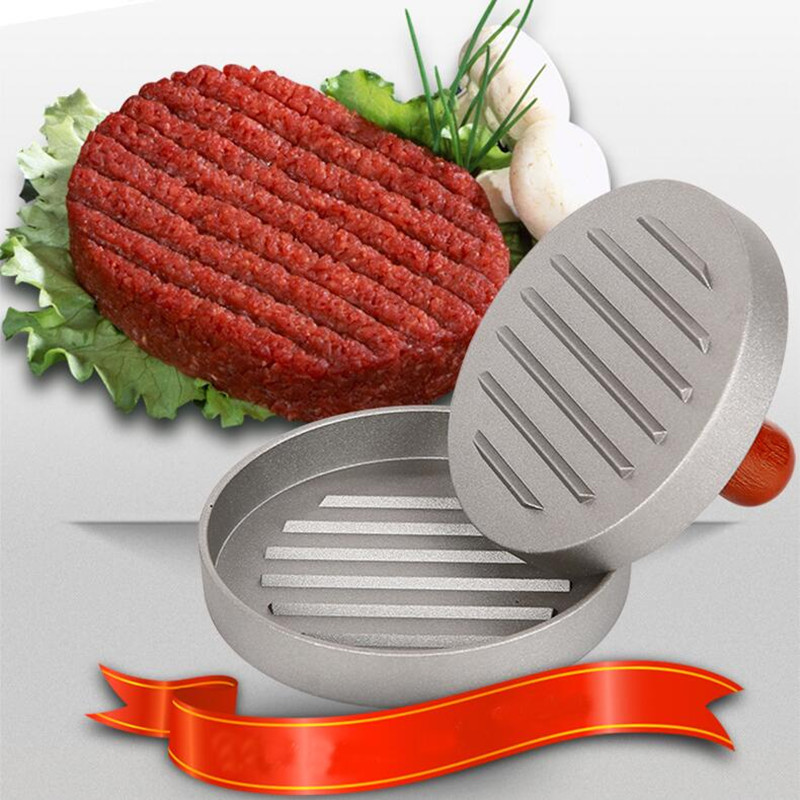 Manual Hamburger Maker Multifunctional Burger Maker DIY Mould Patty Press Burger Machine Meat Poultry Tool Pie Maker Press
