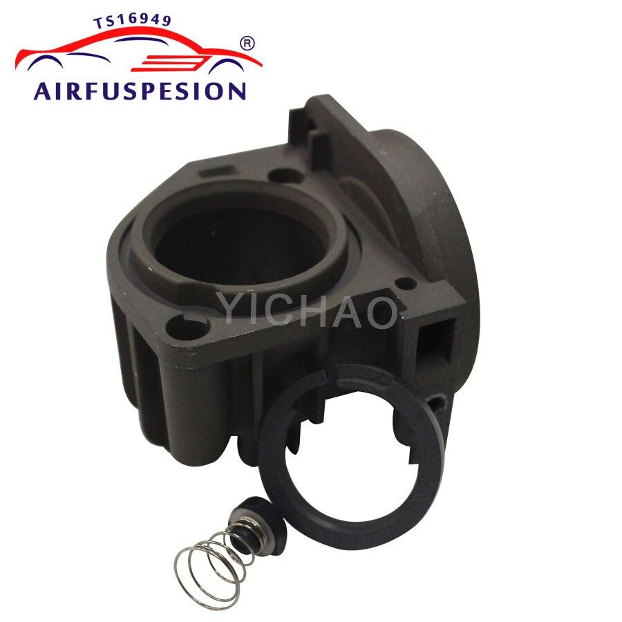 Pompa sprężarki powietrza głowicy cylindrów z pierścieni tłokowych guma wiosna zawór do W220 W211 W219 A6 C5 A8 D3 2203200104 4Z7616007A
