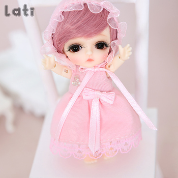 Lati White Belle 1/12 BJD SD Doll Resin Figures Body Model Baby Girls Boys Toys Eyes High Quality Gifts Oueneifs luodoll 2