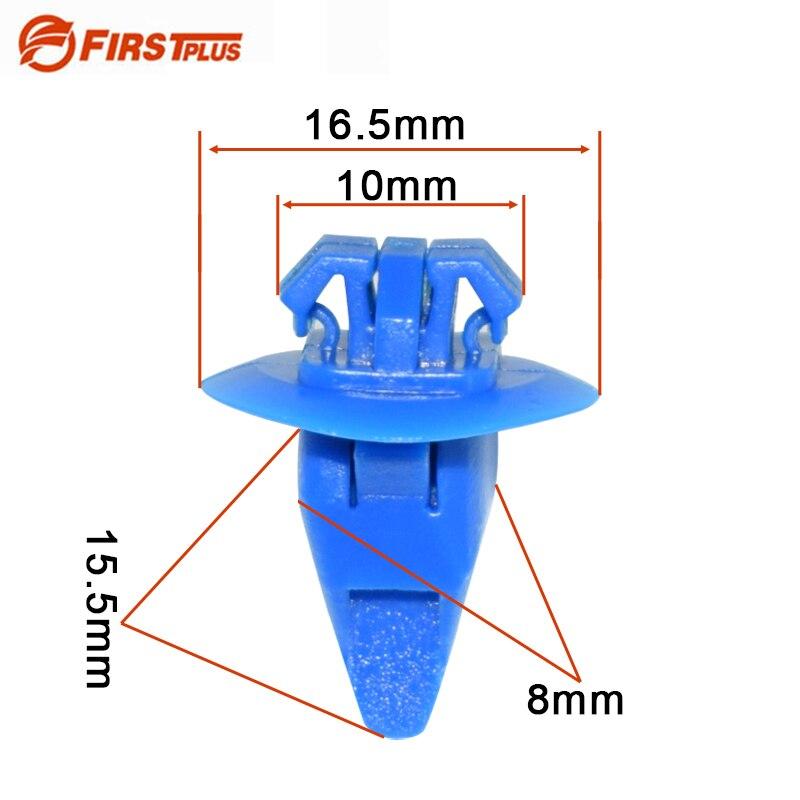 Plastic Rivet Bumper Car Automotive Screw Fastener Fender Clips Bumper Retainer