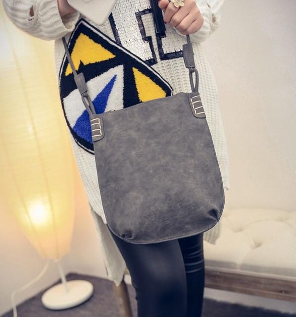 VEEVANV Korea Style Ladies Retro Matte Designer Messenger Bag