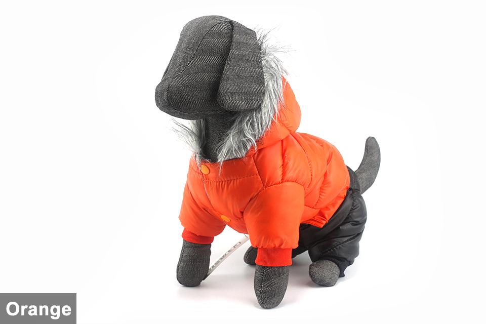 Chaqueta impermeable de invierno para perro 11