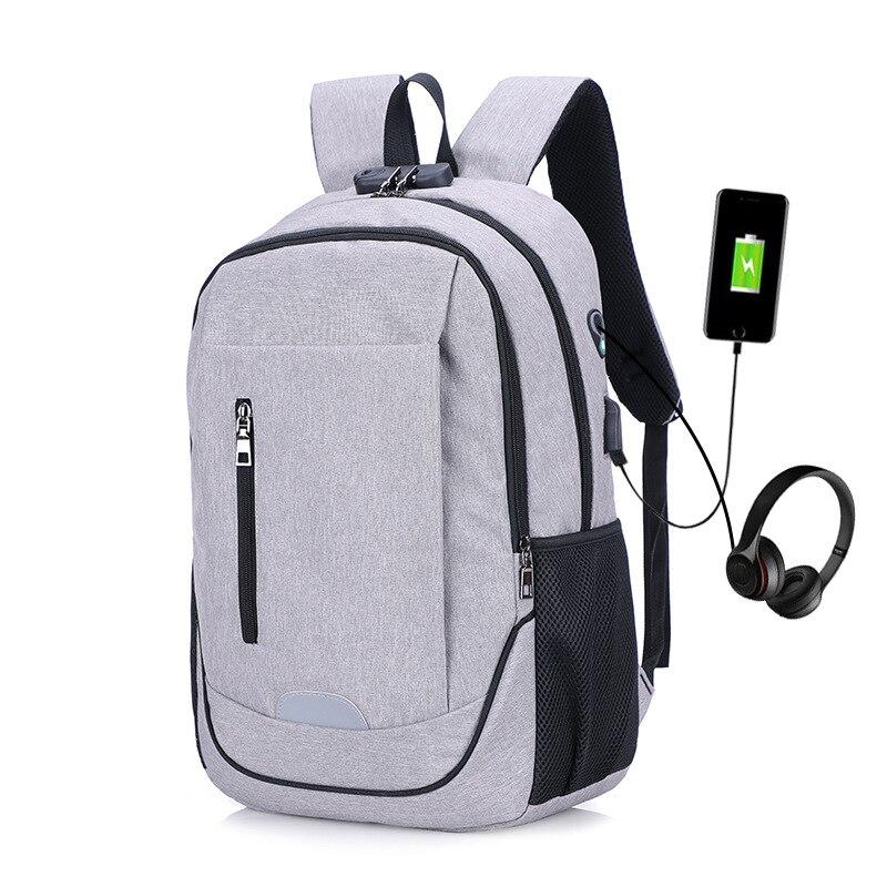 Premium Anti-diebstahl Laptop Rucksack Mit Usb Port Multifunktions Usb Lade Männer Rucksäcke Für Teenager Mode Männlichen Rucksäcke