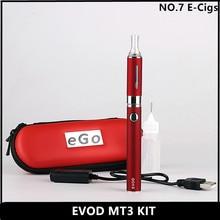 Высокое Качество-EVOD MT3 Электронные Сигареты комплекты 1.6 мл МТ3 Форсунка 1100 мАч EVOD Батареи Эго электронная Сигарета Одного или Двойной Комплект