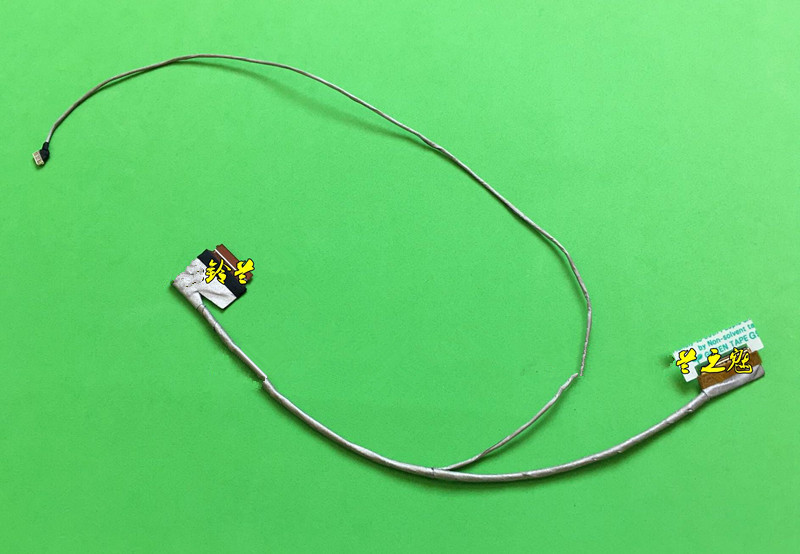 New Notebook LED LCD Screen LVDS VIDEO FLEX Ribbon Connector USB Cable For Lenovo LS51P S510P 50.4L201.020