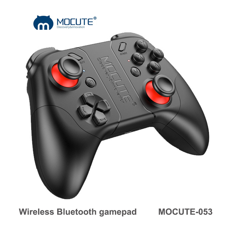 MOCUTE 053 Bluetooth font b Gamepad b font for Android Smartphones Joystick PC Wireless Game Controller