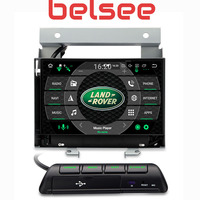 Belsee Android 8.0 Octa Core PX5 Auto 4K Autoradio GPS Navigation Car Radio Head Unit for Land Rover Freelander II 2 2007 2012