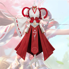 LOL League of Legends Irelia Cosplay Costume The Blade Dancer Outfit Gorgeous Dress Free Shipping
