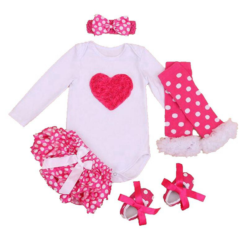 07f17e325caf9 3D Rose Newborn Bodysuits Infant Lace PP Pants Jumpsuit Set Valentine s Day  Baby Girl Clothes Vetement Bebe Fille Toddler Outfit-in Clothing Sets from  ...
