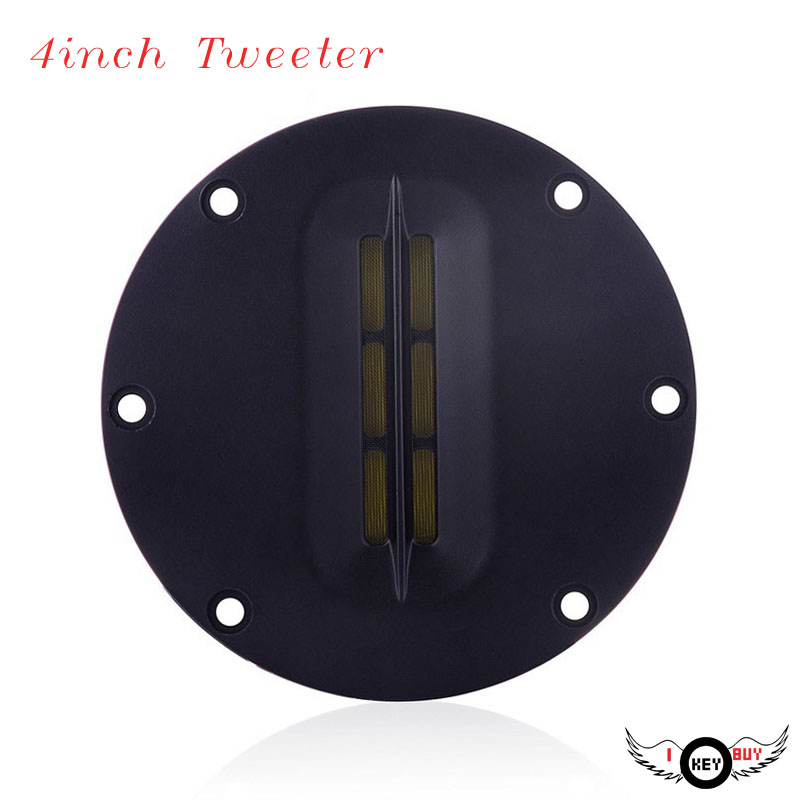I Key Buy Brand New 4 Inch 30W HiFi Tweeter Speaker Ribbon Treble Belt Grade ABS