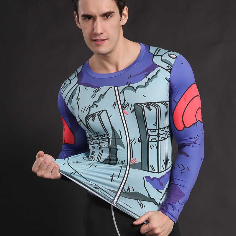 Anime Cosplay เสื้อ Naruto T เสื้อผู้ชายเสื้อผ้าการบีบอัดเครื่องแต่งกายเสื้อยืด Kakashi Uchiha Sasuke ZOOTOPIA BEAR