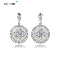 Teemi 2016 New Noble Special Design Sea Shell Pearl Drop Earrings Fashion Delicate Dangle Brincos Jewelry