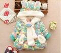 Crianças roupas de bebê dress da menina do menino das mulheres de inverno 0 3 criança do sexo feminino outerwear espessamento 2 criança amassado jaqueta infantil 6-12 meses de idade 8