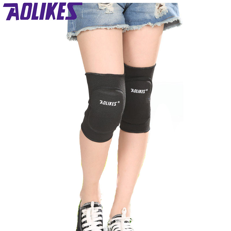 Aolikes 1 Pair Kids Knee Support Baby Crawling Safety Dance Volleyball Tennis Knee Pads Sport Kneepads Children Knee Protection