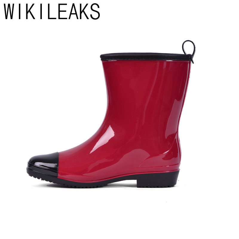Popular Red Rainboots-Buy Cheap Red Rainboots lots from China Red