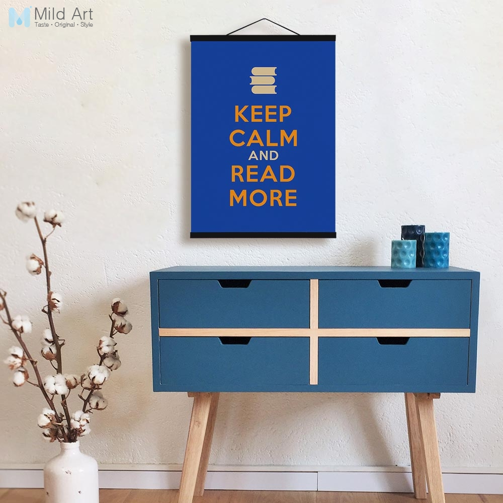 Keep Calm Coffee Life Hippie Quotes Wooden Framed Poster Nordic ...