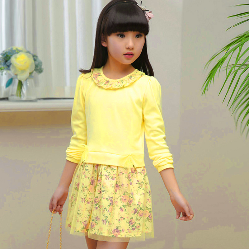 b78fbeda9 Baby Girl Floral Spring Summer Dress 2019 Little Girls Princess ...