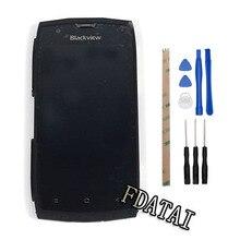 Para Blackview BV7000 Pantalla LCD + Touch Asamblea Digitalizador con marco Reemplazo Para Blackview BV7000 + Herramientas