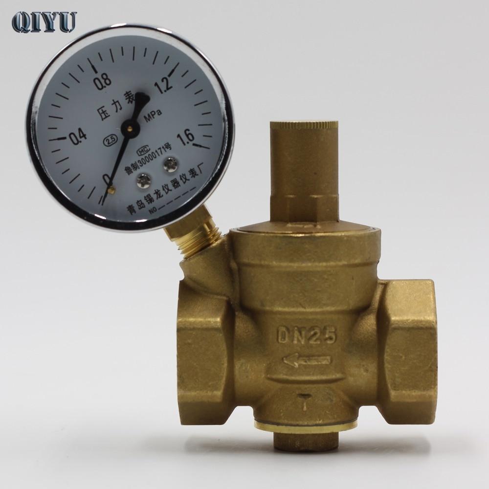 цена на DN15 DN20 DN25 DN32 DN40 Tap water pressure reducing valve pipe pressure reducing valve hot water purifier home regulator valve