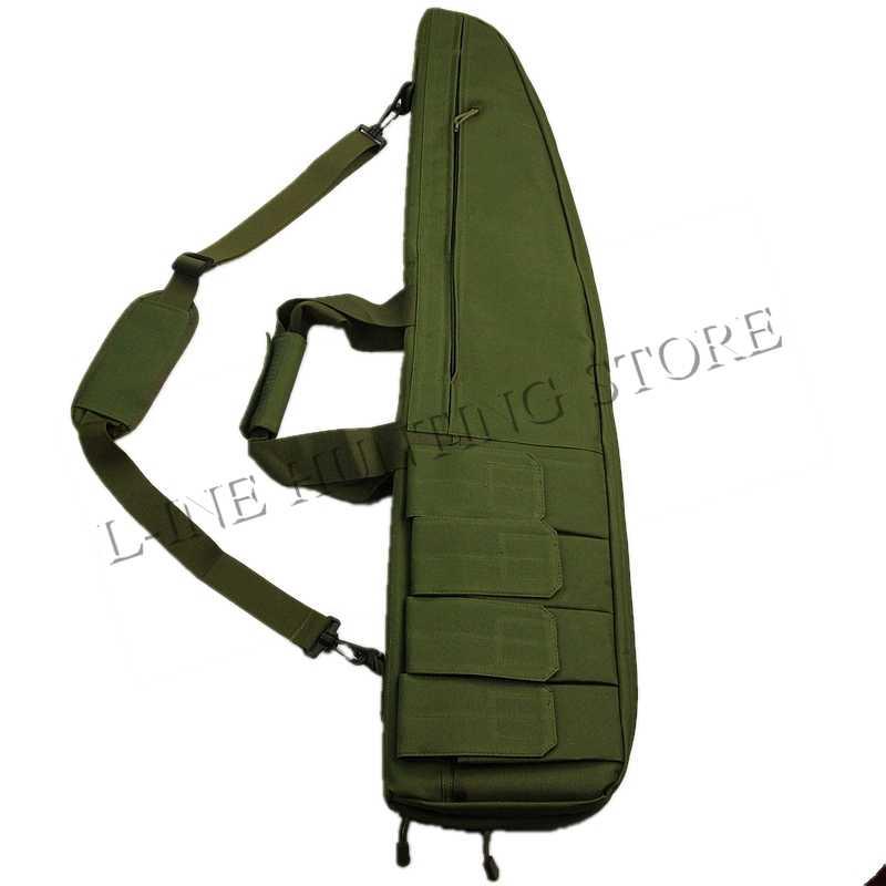 Berburu Gun Aksesoris Taktis Tas 90 cm Bahu Pistol Gun Rifle Pouch untuk Airsoft Paintball CS Permainan