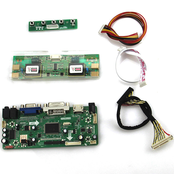 M.NT68676 LCD/LED Controller Driver Board(HDMI+VGA+DVI+Audio) For M170E5-L09 LM170E03 LVDS Monitor Reuse Laptop 1280*1024