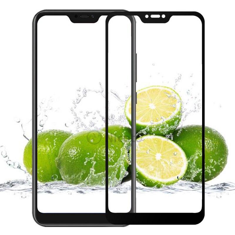 Nicotd Tempered Glass for Xiaomi Mi A2 Lite 9H Full Cover Film Screen Protector for Xiaomi Redmi 6 pro Glass for Xiomi Mi A2Lite (1)