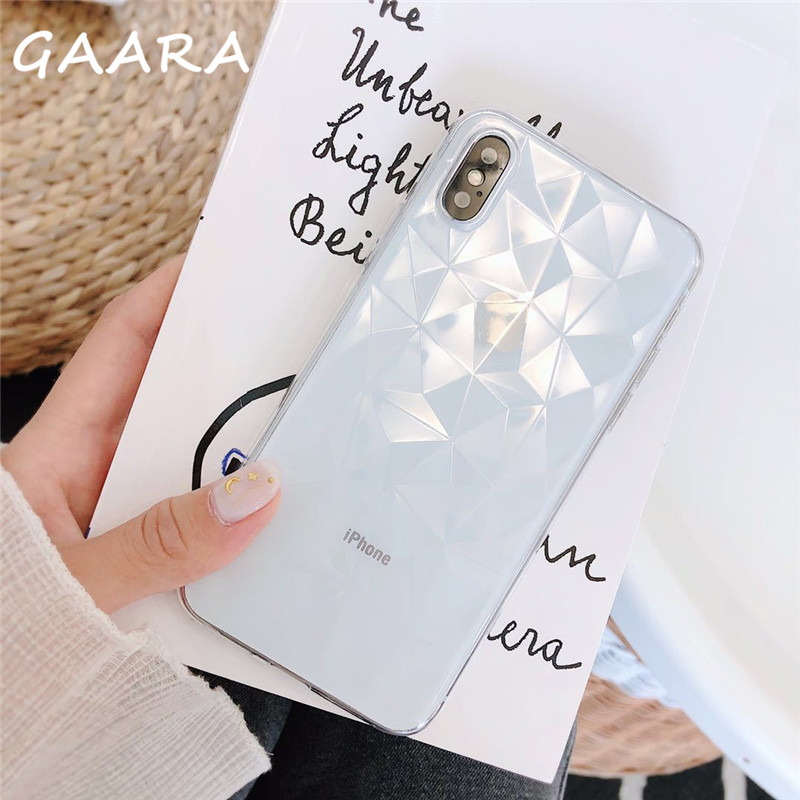 Diamond Silicone Texture Case for <font><b>Huawei</b></font> <font><b>Y5</b></font> Y7 Y9 Prime Pro <font><b>2018</b></font> 2019 Transparent Cover for <font><b>Huawei</b></font> Mate 20 Lite Pro 20X <font><b>carcasa</b></font> image