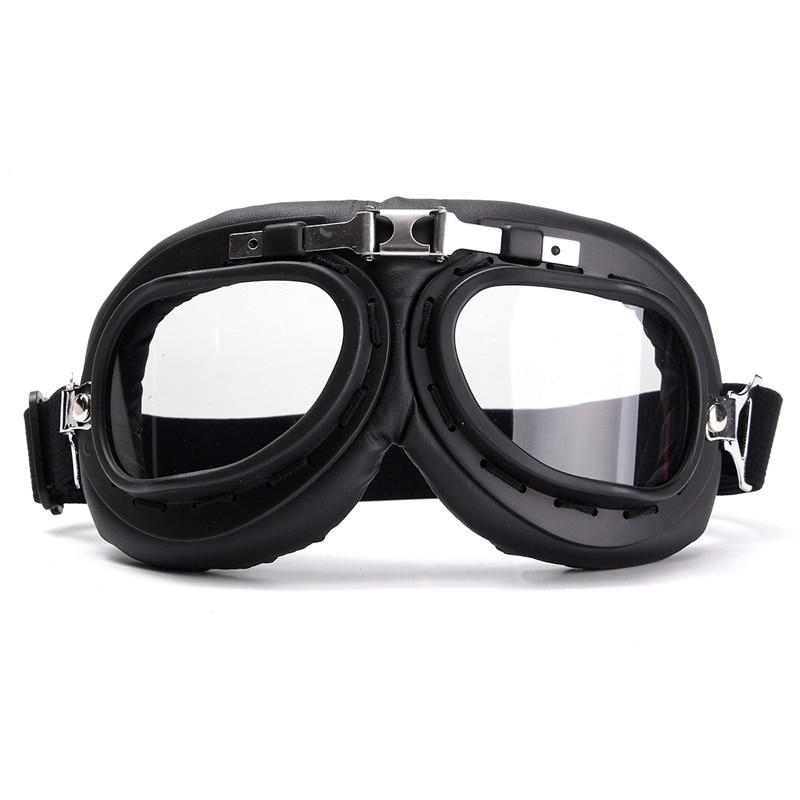Vintage Motorcycle Goggles Retro motorbike helmet Glasses Scooter Harley goggles Anti-UV PC lens Moto Casco Glasses