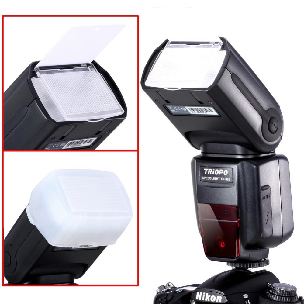 Image 3 - TRIOPO TR 988 Professional Speedlite TTL Flash with *High Speed Sync* for Canon d5300 Nikon d5300 d200 d3400 d3100 DSLR Cameras-in Flashes from Consumer Electronics