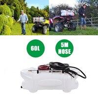 60L ATV бак распылителя гербицидный опрыскиватель 12 В насос для сада Газон Двор Бесплатная доставка