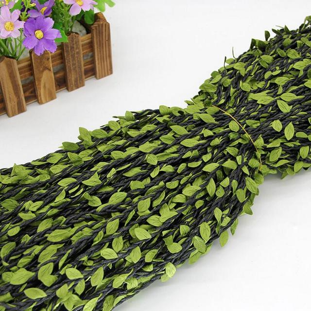 5 Yards Trimmings Embroidered Leaves Leaf Lace Ribbon Trim Sew Appliques  Craft decorate Home Christmas Decoration