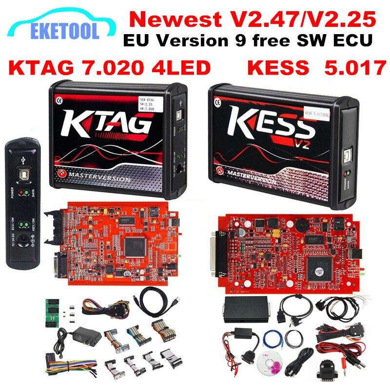 KESS V2 5 017 V2 47 EU Version KESS V2 V5 017 KTAG V7 020 V2
