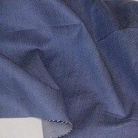 Yeni Tencel/Pamuk koyu denim mavi renk dimi kumaş DIY için sonbahar moda giyim gömlek pantolon elbise tekstil kumaş tela