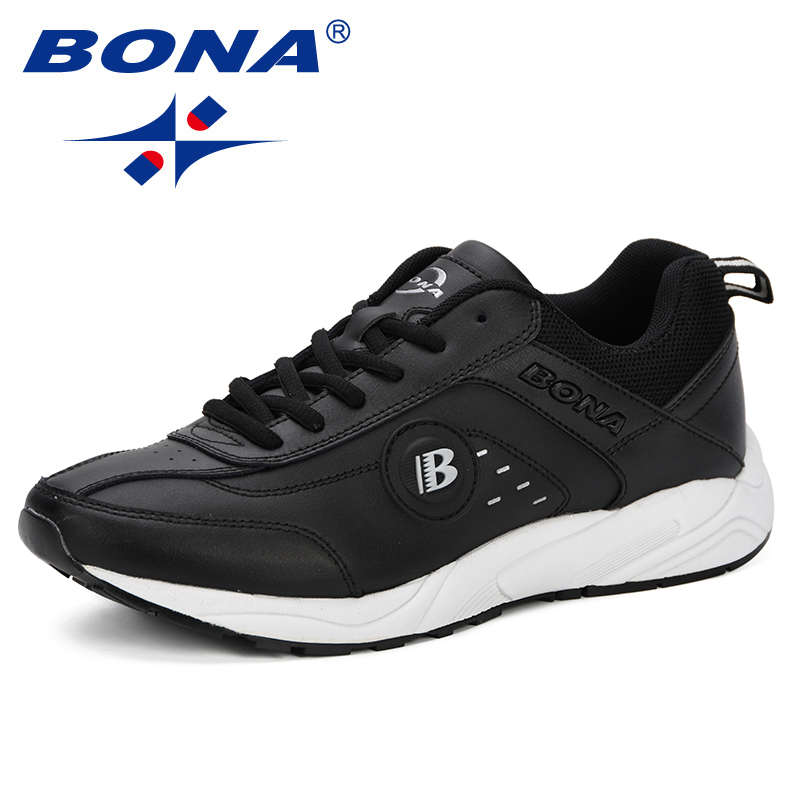 Image 4 - BONA 2019 Spring Casual Shoes Men Breathable Shoes Tenis  Masculino Shoes Zapatos Hombre Sapatos Outdoor Shoes Sneakers Men  ComfyMens Casual Shoes
