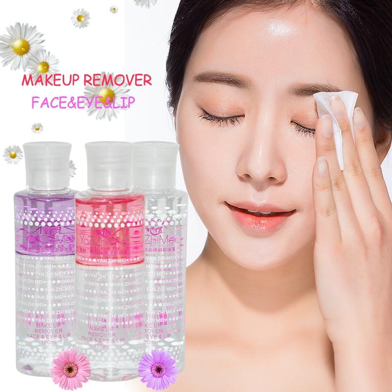 Moisturizing Makeup Remover Liquid Gentle Eyeu0026Lipu0026Face Make Up Remover Skincare Deep Cleansing ...