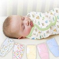 2018 Moda bebê musselina swaddle swaddleme envoltório 100% algodão macio infantil Blanket & Panos cobertores do bebê recém nascido deken|Cobertores e mantas|   -