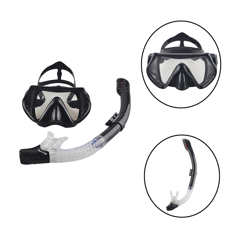 Audace 2017 Nuovo Professionale Scuba Diving Mask Snorkel Anti-nebbia Occhiali Occhiali Set Di Nuoto Del Silicone Di Pesca Attrezzature Della Piscina 6 Di Colore