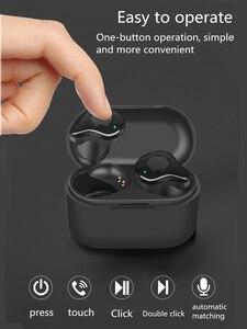Image 2 - Bluetooth 5,0 Kopfhörer TWS Stereo Drahtlose Kopfhörer Headset Wasserdichte in Ohr Sport Ohrhörer für Samsung galaxy knospen smartphone