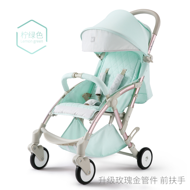6kg KUB  baby stroller folding umbrella baby car send gifts export baby carriage four wheels can boarding directly newborn gifts original hot mum baby strollers 2 in 1 bb car folding light baby carriage six free gifts send rain cover