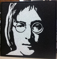 100% HandPainted Original Texture Pushpin shape Harry Potter Pop Art Wall Art Oil Canvas Painting Modern Picture for Living Room