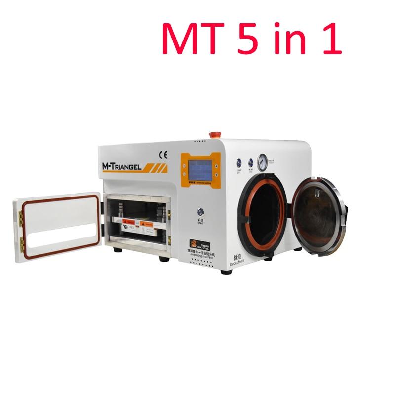 Haute Qualité 5 dans 1 MT OCA Stratification Sous Vide Machine Autoclave LCD Écran Bubble Remover Debubbler