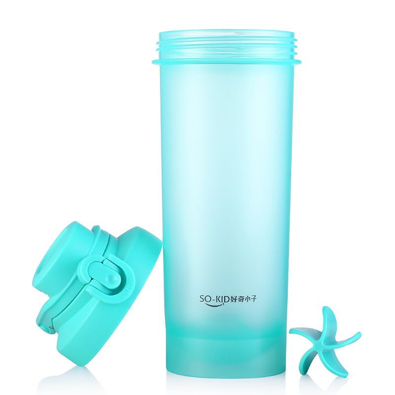 700ML Sports Drinking Plastic My Water Bottle Protein Shaker Leakproof Portable Bottle For Water PP With Handgrip BPA Free
