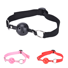 Exotic accessories Sex Open Mouth Gag Harness Oral Fixation Nylon Band