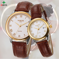 Reloj Mujer 2016 Fashion Couple Watches Men Women Quartz Watch Luxury Leather Montre Femme XFCS Relogios