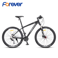 FOREVER Mountain Bicycle Light Special Aluminum Alloy Frame Bike 27.5*2.25 Tyre Hydraulic Disc Brake Cycle MTB 30 speed 27.5in