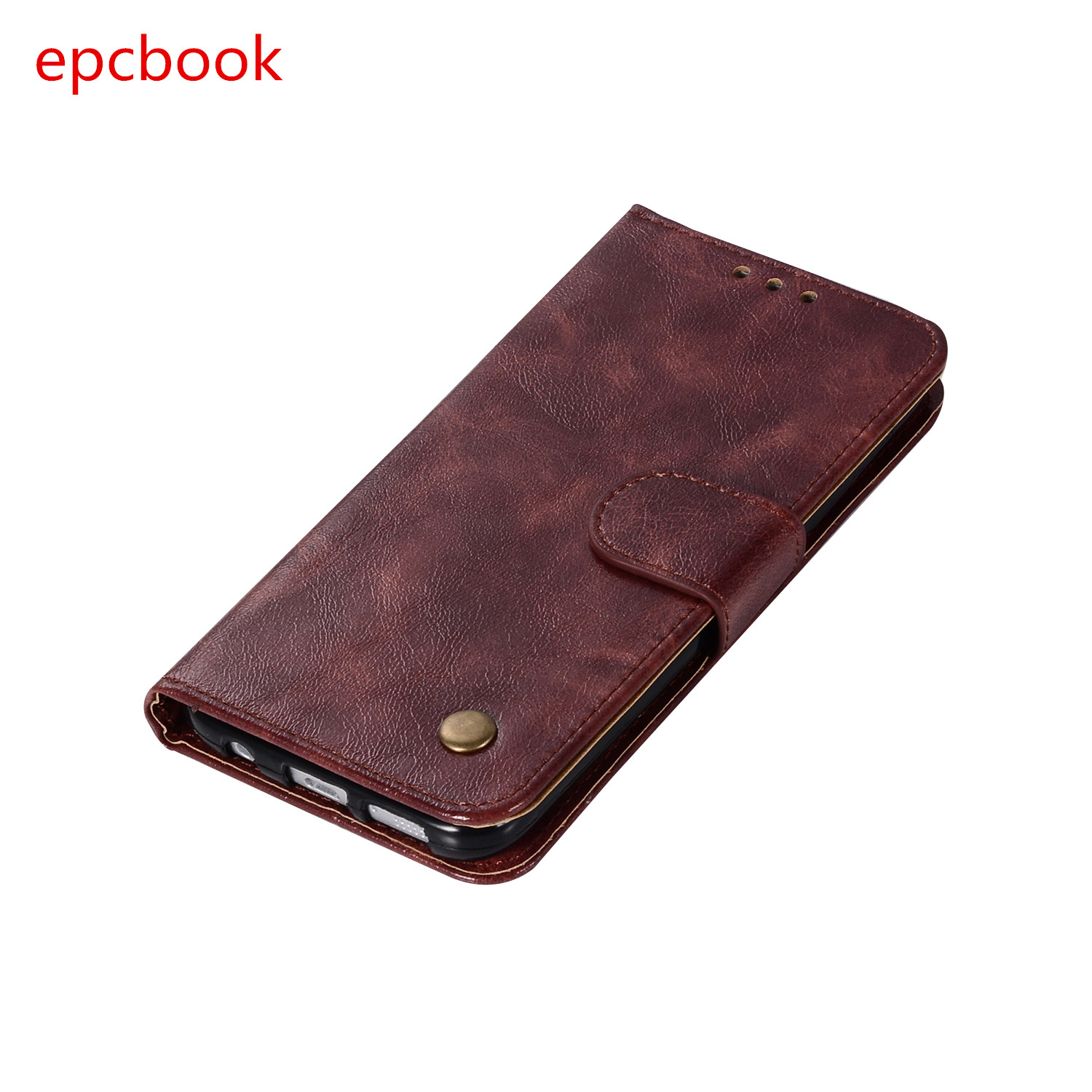 epcbook plain Flip Vintage Leisure Phone Case For Sumsung Galaxy S6 S6edge s5 Case Shell For Galaxy S7Edge S7 Stent Wallet Case