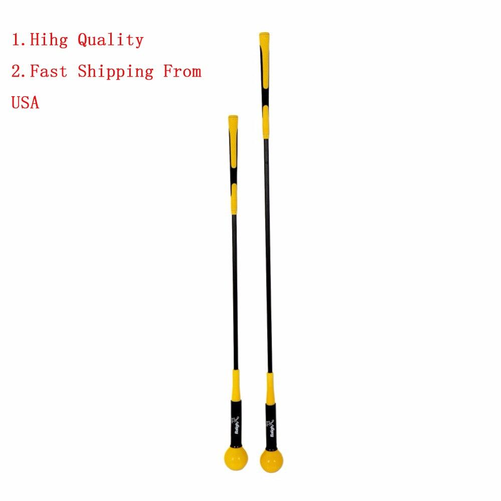 Envío de ee.uu. gran práctica ayudas de entrenamiento de Golf Swing Trainer principiante Gesture alineamiento corrección ayuda Golf accesorios